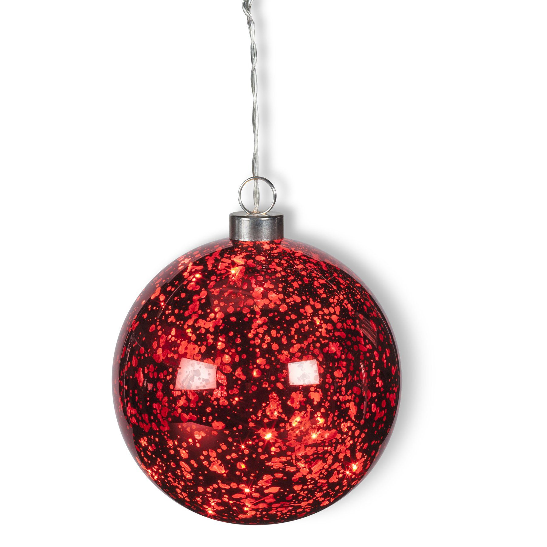 Decoration Ball Abbott Collection Hanging Ball Light 45 Antique Red