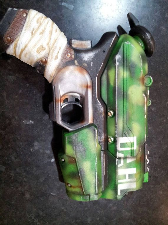 Dahl Borderlands nerf squirt gun | Borderlands Wedding