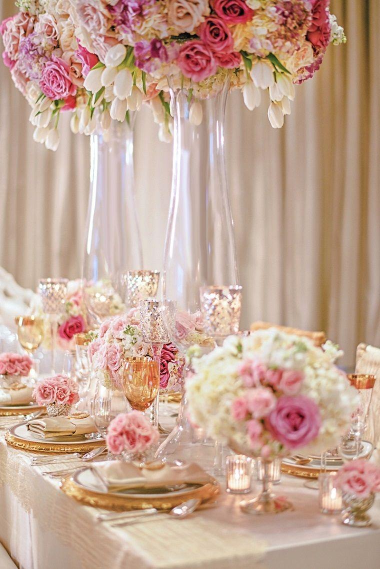 8fe714791 Decoración bodas vintage modernas y los colores de moda para el 2018 ...
