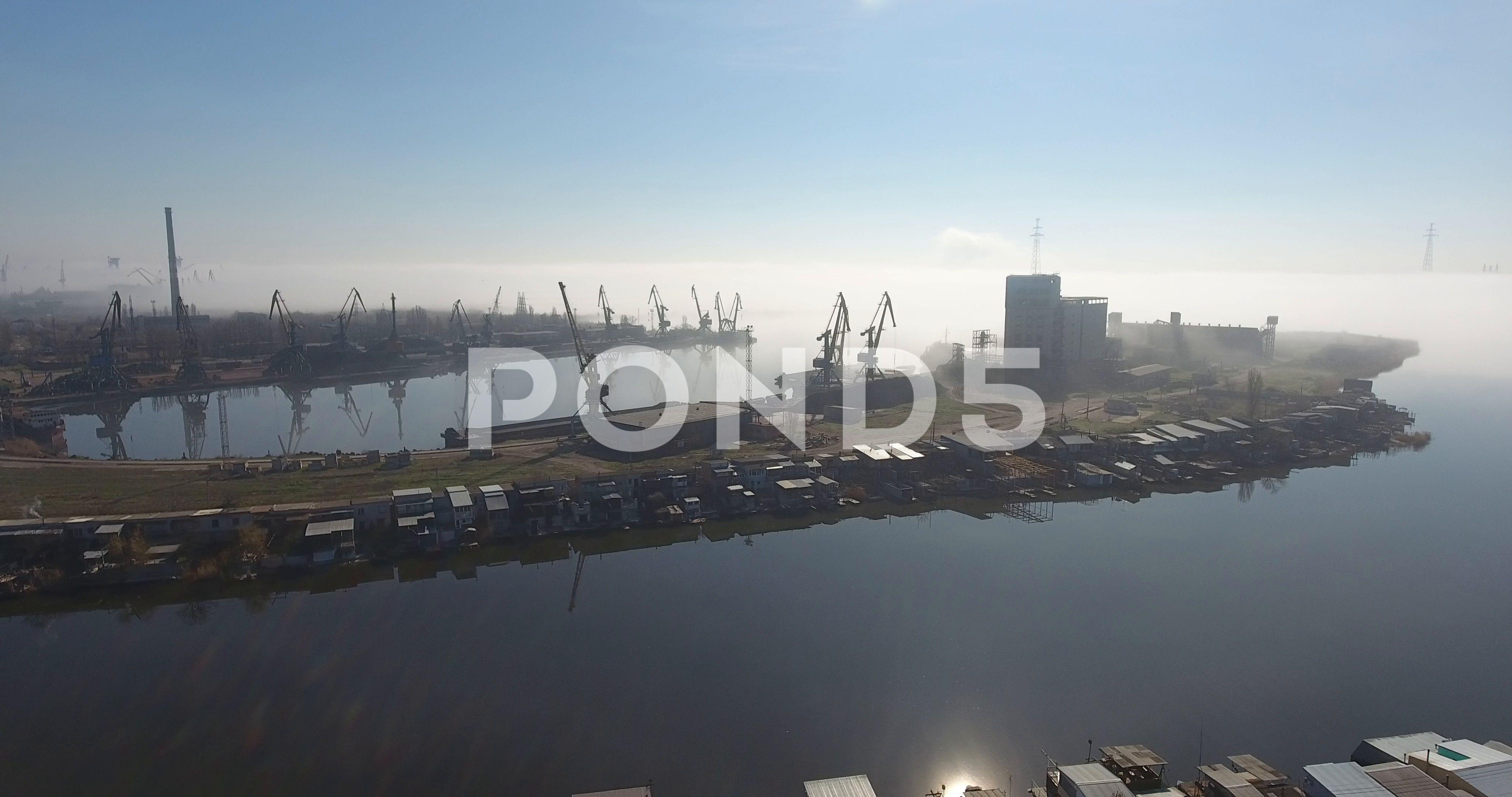Fantastic city in the fog 86