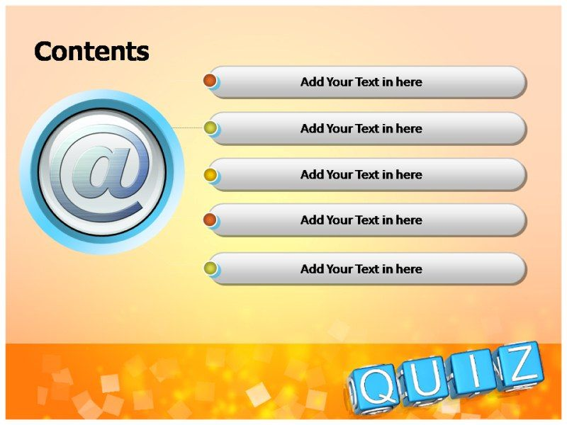 Microsoft Point Templates Quiz Trivia Template Multiple Choice Free Presentations
