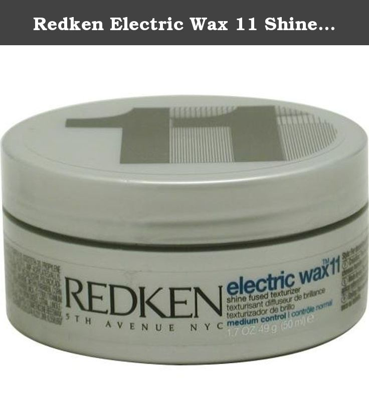 Redken Electric Wax 11 Shine Fused Texturizer Medium Control 1 7 Oz The Redken Elastic Works 09 Waving Gel Giv Moisturize Hair Redken Beauty And Personal Care