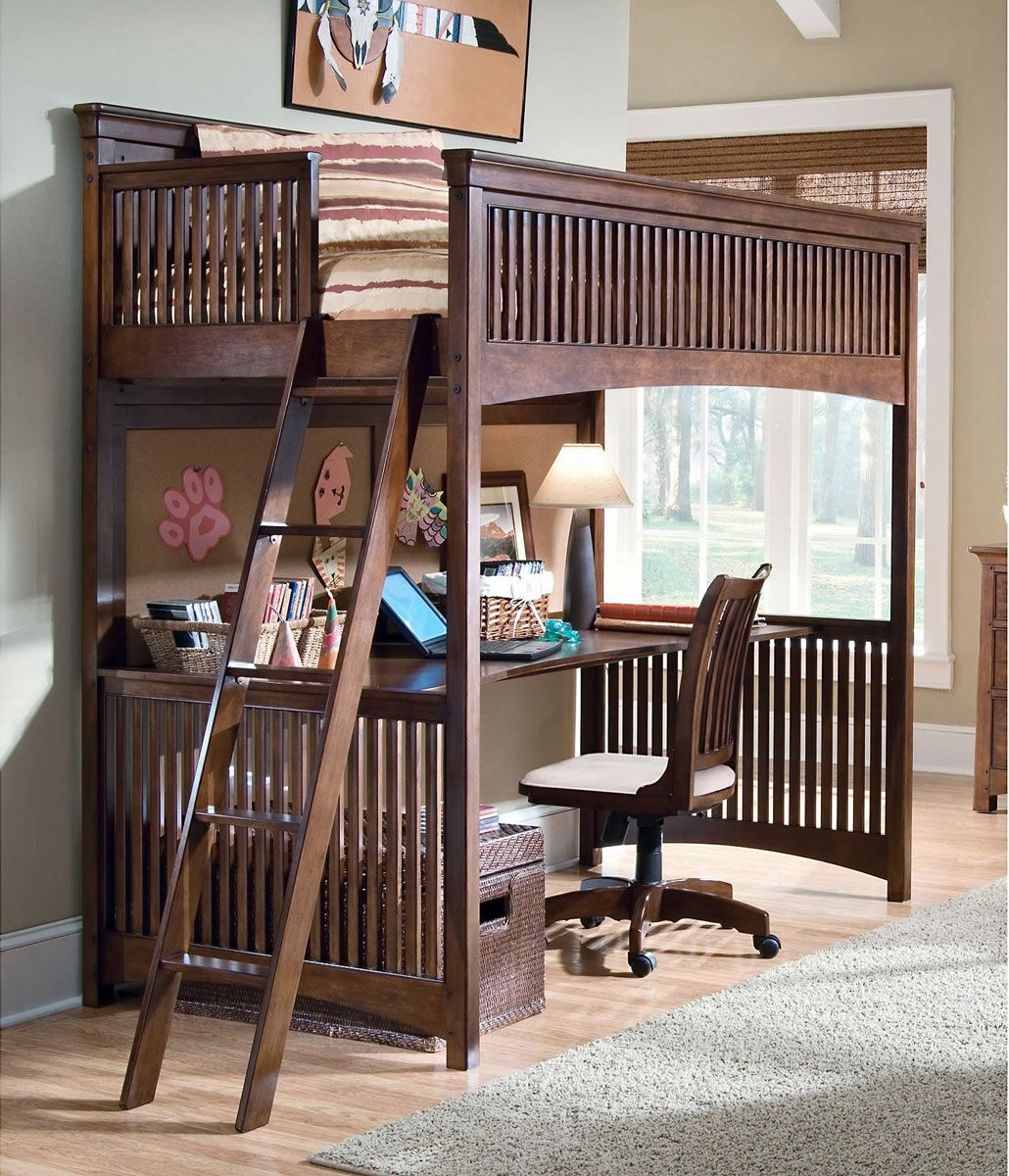 Wooden loft bed with desk  bedasofiaeugeniowpcontentuploadsTwinSize