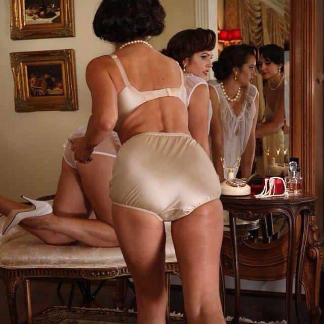 3aa3fb4f415b Secrets In Lace: Champagne Coquette Bullet Bra and Retro Panty ...