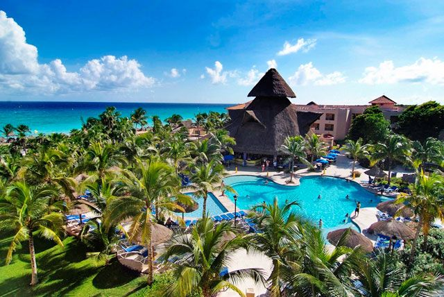 Sandos Playacar Beach Resort And Spa The Were Going To In May