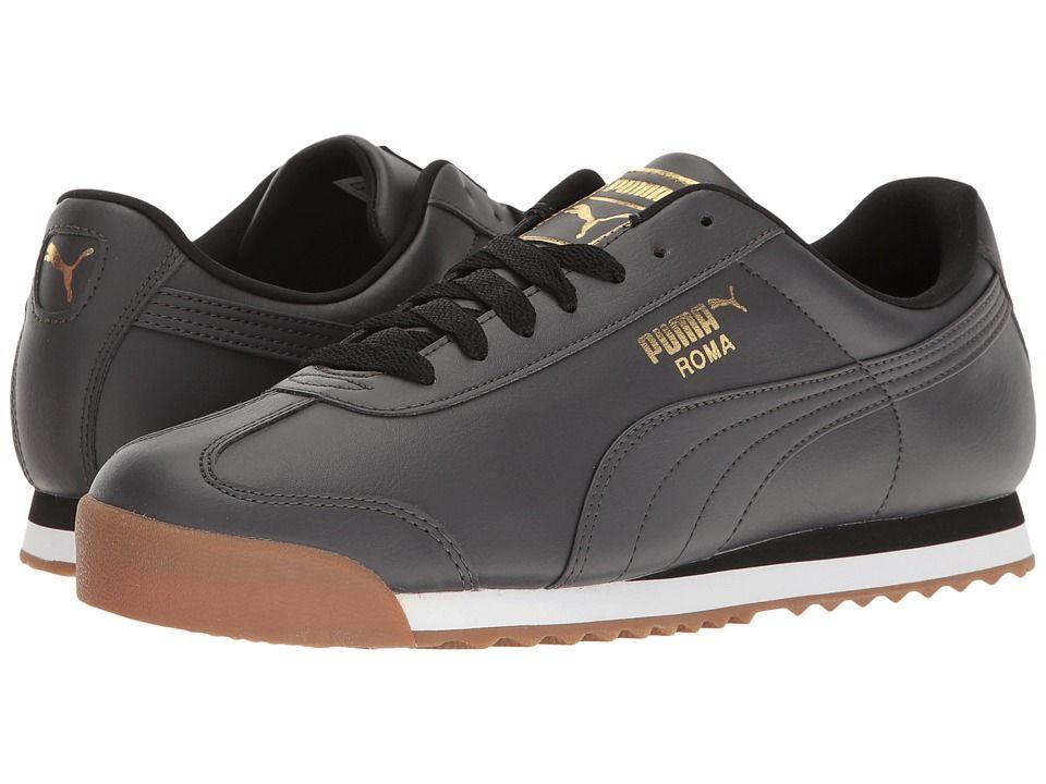 Puma - Roma Basic Gold (asphalt/asphalt) Men's Shoes in 2020 ...