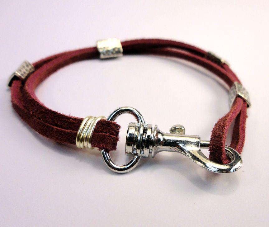 Tutorials Easy Suede Lace Bracelet Lace Bracelet Diy Leather Bracelet Diy Jewelry Gifts