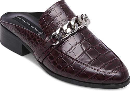 d7779dc221b Steven By Steve Madden Women s Shoes in Burgundy Croc Color. Steven By Steve  Madden Women s Swanki Crocodile Mules Shoes
