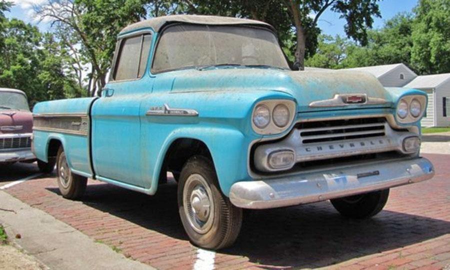Lambrecht Chevrolet auction: list of lowest-mileage vintage cars ...