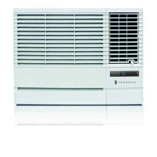 """Friedrich CP18G30 18000 btu - 230 volt - 10.7 EER Chill series room air conditioner by Friedrich. Save 28 Off!. $644.00. Auto air sweep for more even cooling throughout the room. Money Saver®saves money by operating the fan only when cooling. Fresh, new look in Designer White. 24-hour timer lets you program on & off times. ENERGY STAR® qualified 18000 Btu 230/208v Chill room air conditioner installs in a window or through walls up to 9"""" deep and conditions rooms up to approximately 1000 ..."""