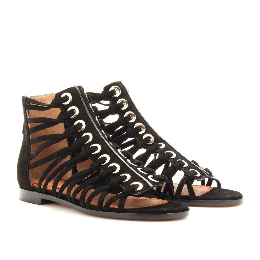 23f733da722 mytheresa.com - Givenchy - SUEDE GLADIATOR SANDALS - Luxury Fashion for  Women   Designer clothing