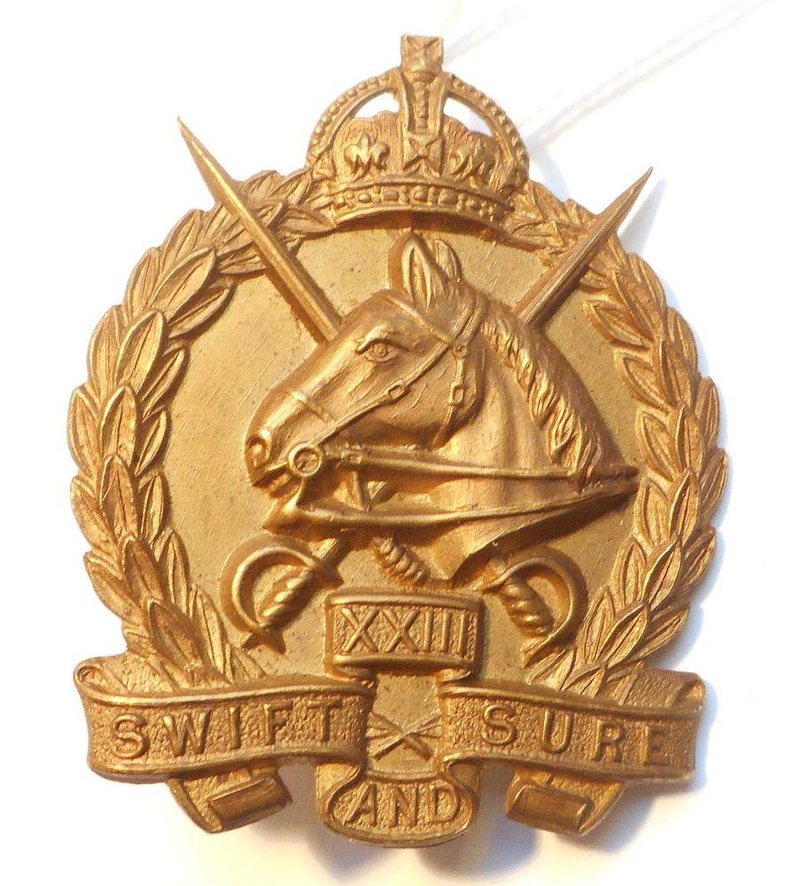 AUSTRALIA  23rd LIGHT HORSE in Collectables, Militaria