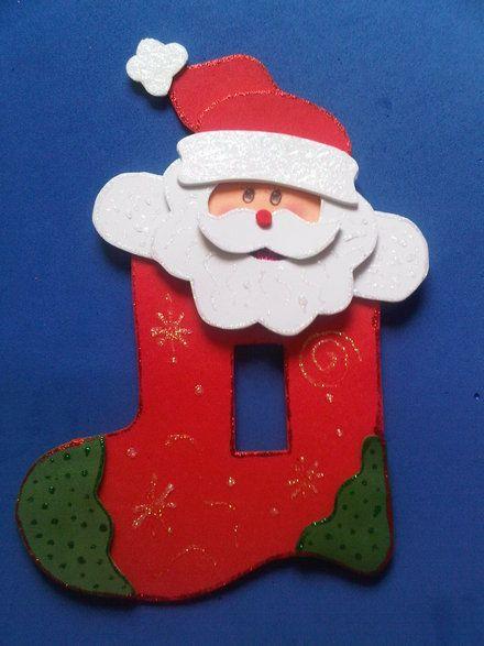 vendo lindos adornos navidenos para los interruptores