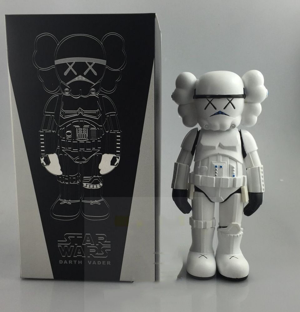 New Arrival Kaws Star War Stormtrooper 25cm Action Figure With Original Box Toy