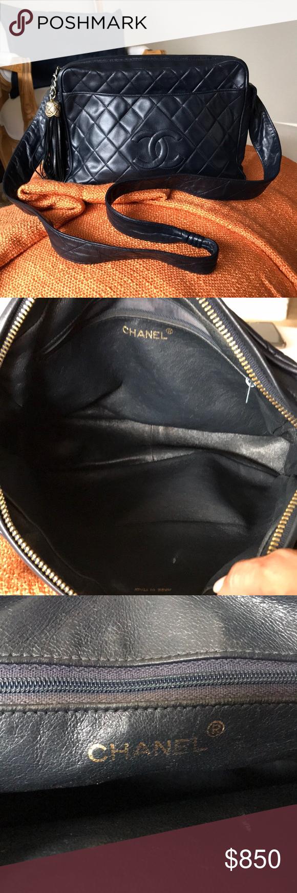 Vintage Chanel Crossbody Camera Bag Chanel Crossbody Vintage Chanel Bags