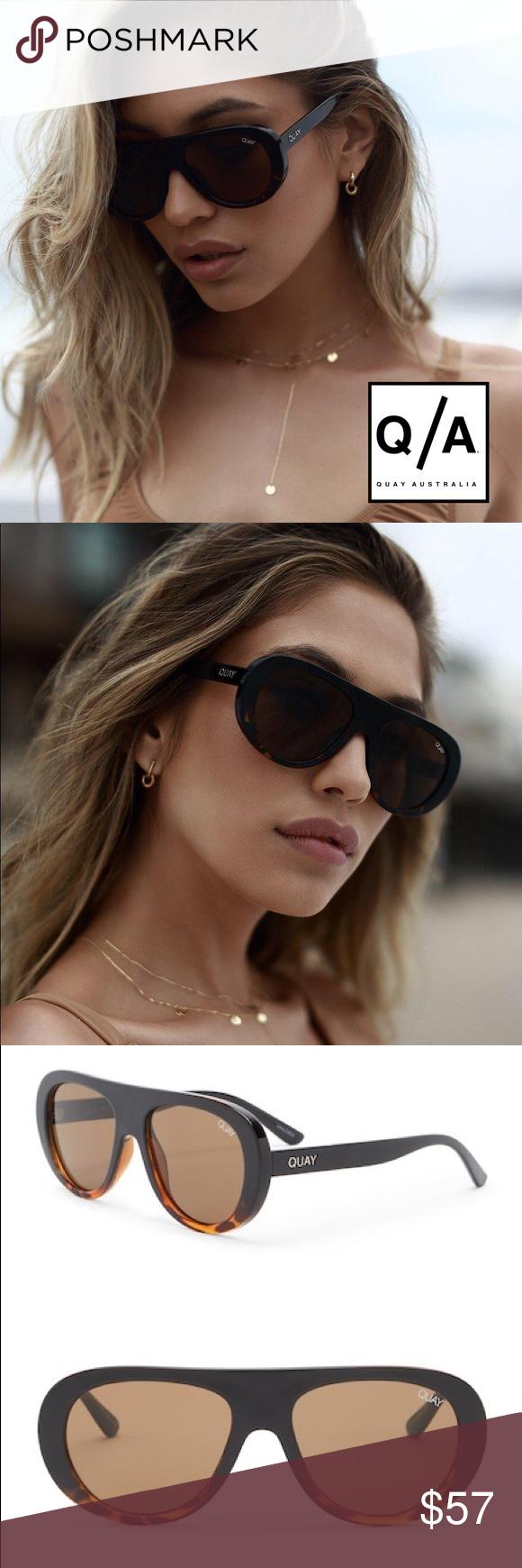 37ea36c41b NWT Quay Australia Bold Move Aviator Sunglasses ➖NWT ➖BRAND  Quay Australia  ➖STYLE
