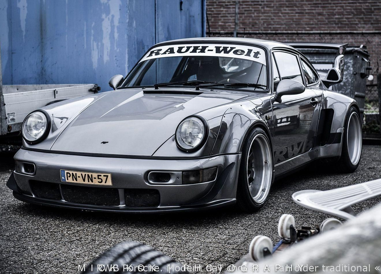 #Cars  – RWB Porsche. Modern take on an older classic – now