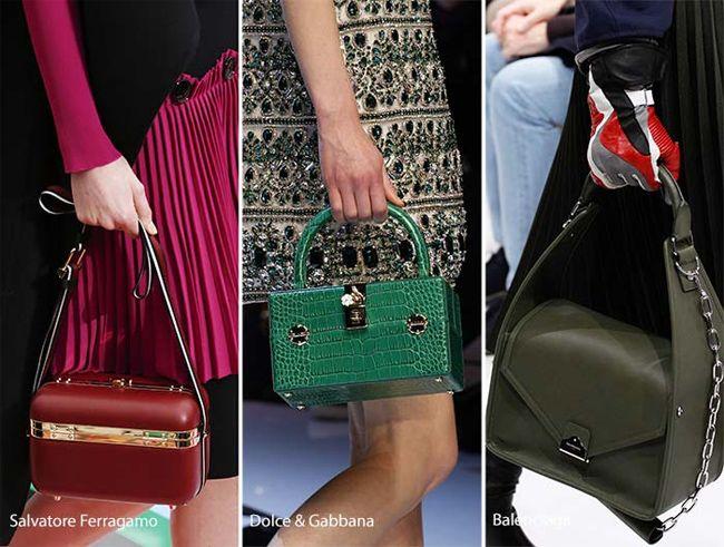 Creative Fall Winter Designer Boxy Handbags Trends