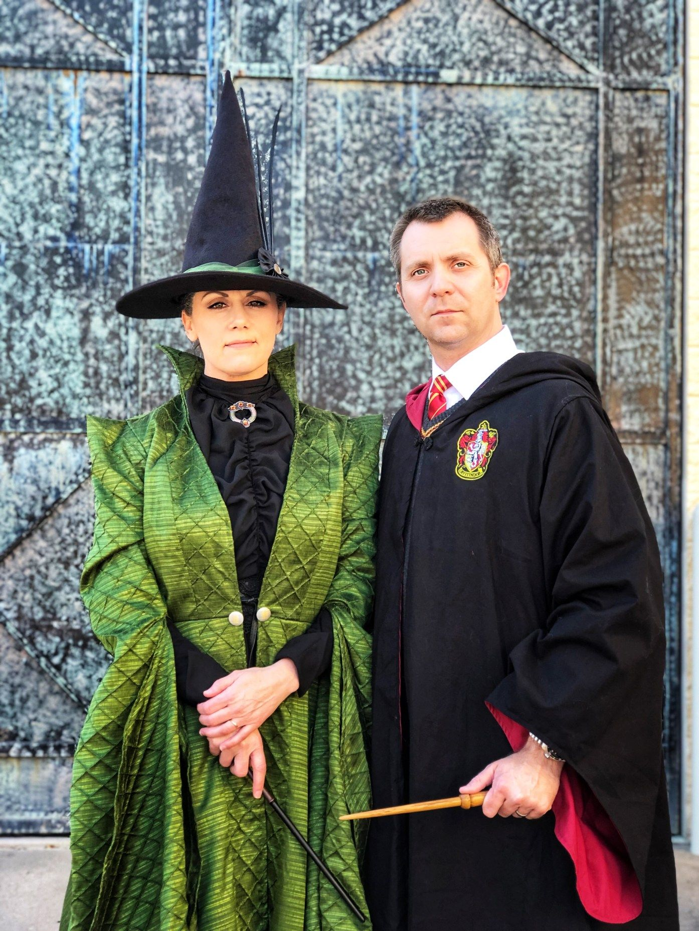 Costuming McGonagall from Harry Potter in 2020 Turtle