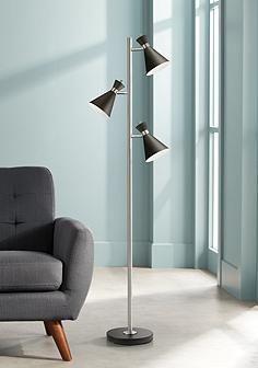 Donovan Led 3 Light Tree Floor Lamp Lamps Plus 100 Tree Floor Lamp Indoor Floor Lamps Lamp
