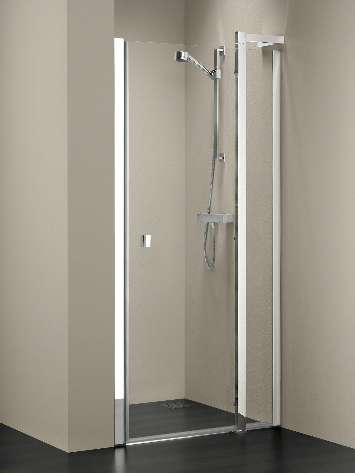 nisdeur handig tussen twee muren douchen douchecabine pinterest