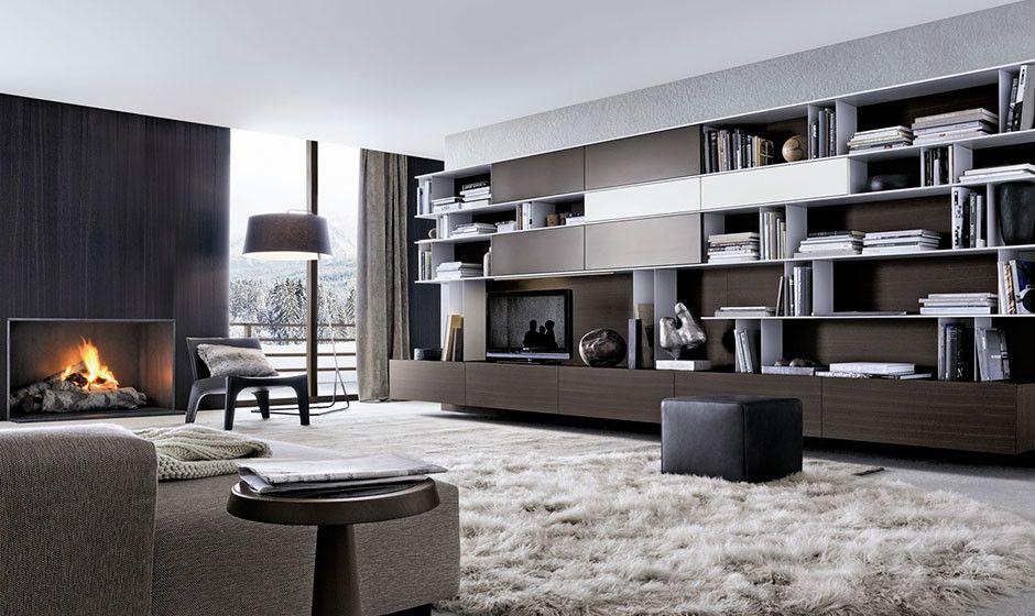 Poliform - Selva Interior | Shelves/Cabinets | Pinterest | Interiors ...