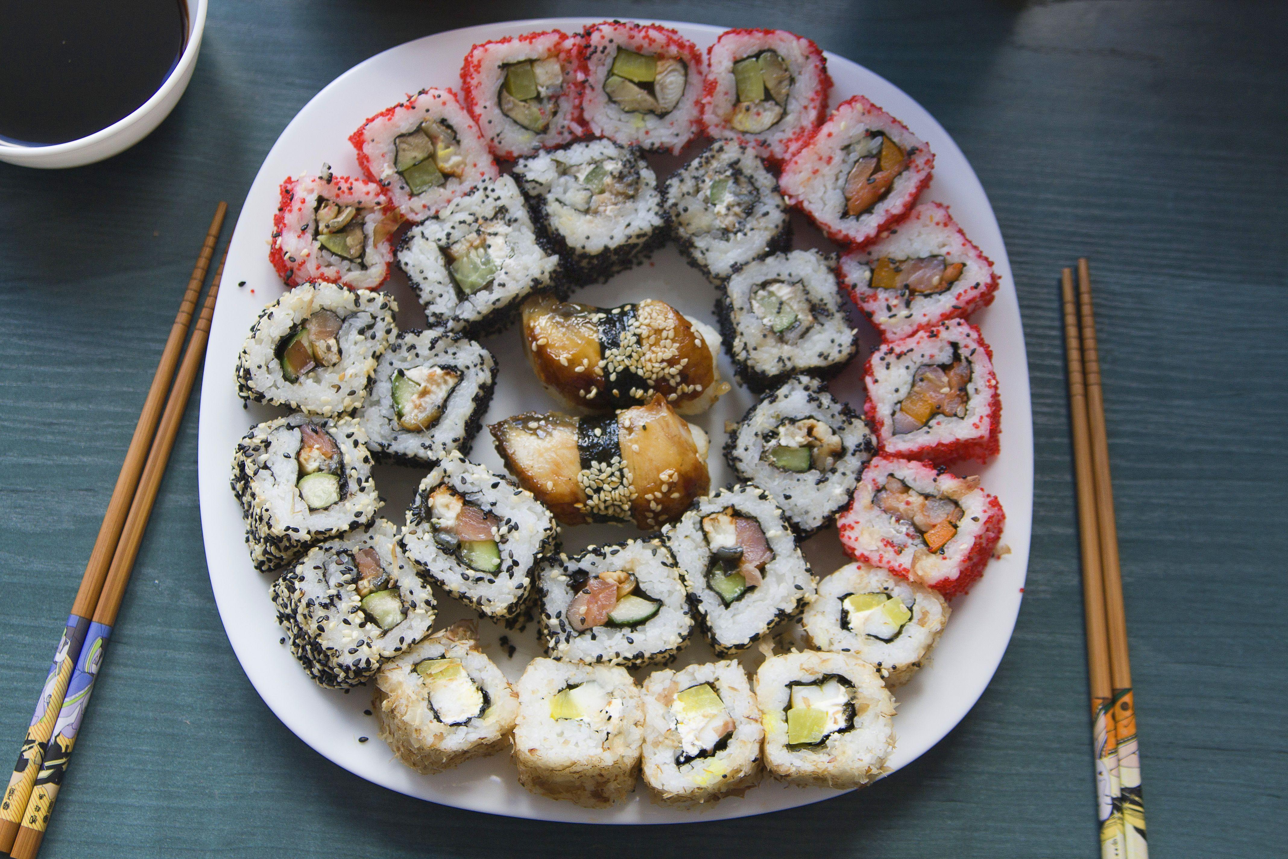 Фото рецепт суши роллы в домашних условиях