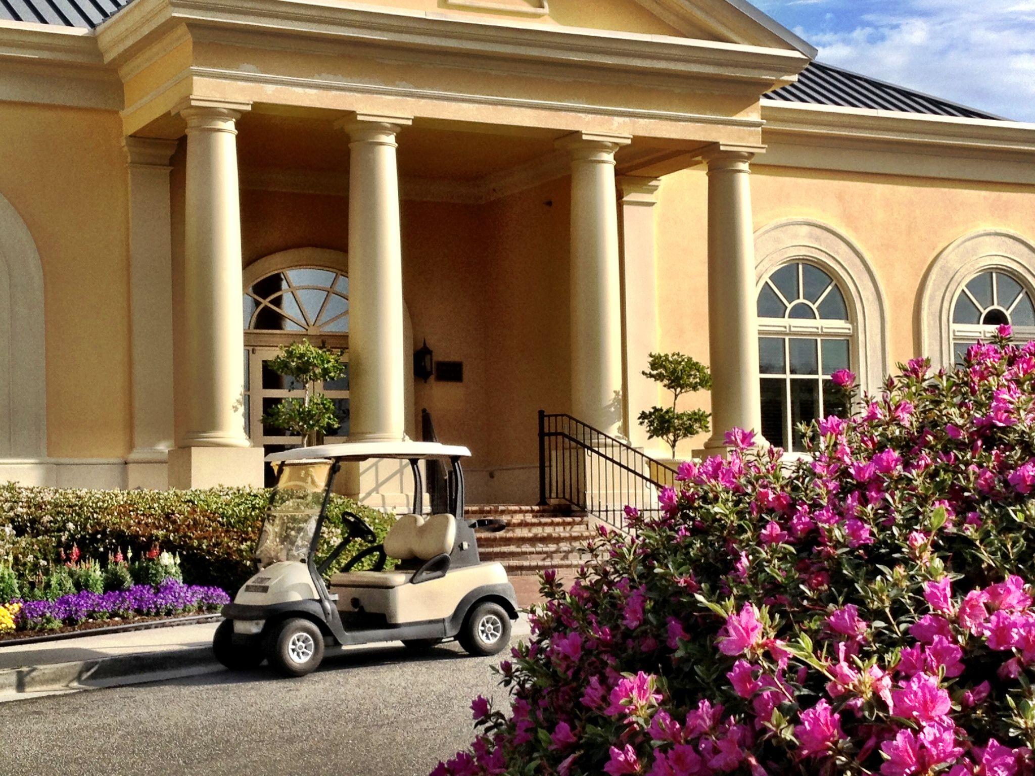 Golfing at The Club at Savannah Harbor
