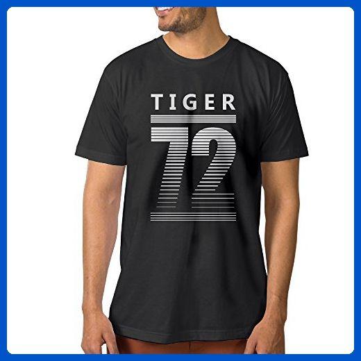 Men S Tiger 72 Football Basketball Fans Cool T Shirt Sports