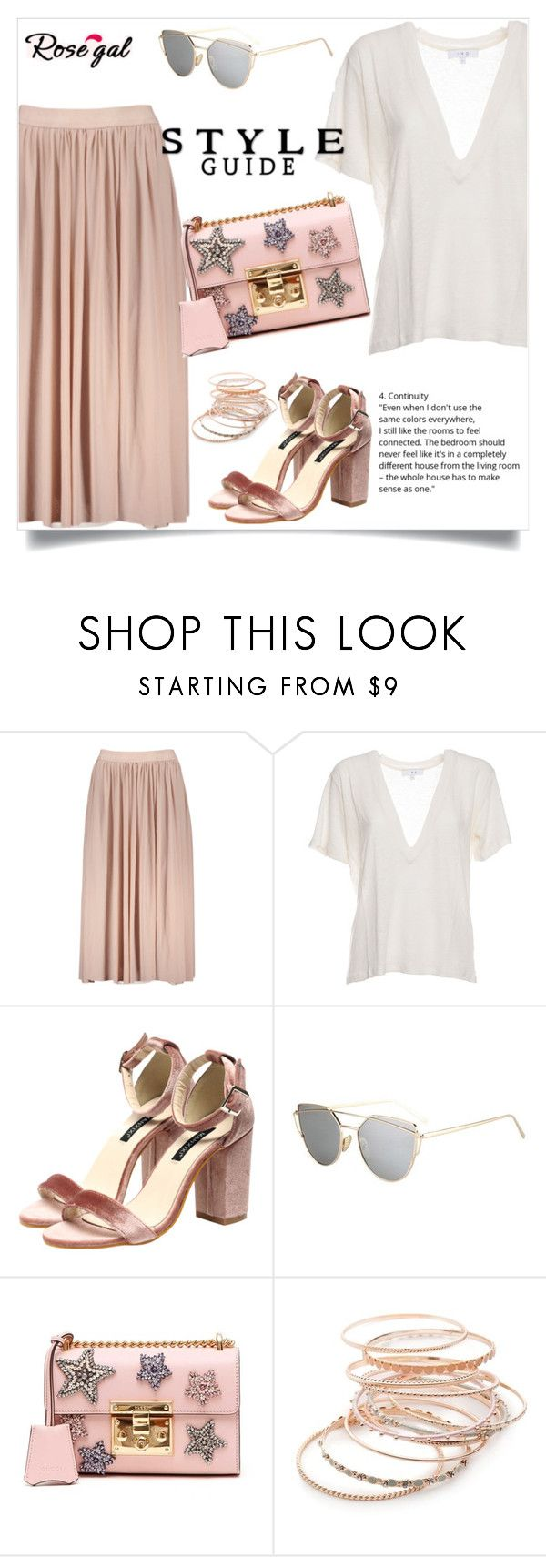 """Rosegal"" by amra-mak ❤ liked on Polyvore featuring IRO, Gucci, Red Camel and rosegal"