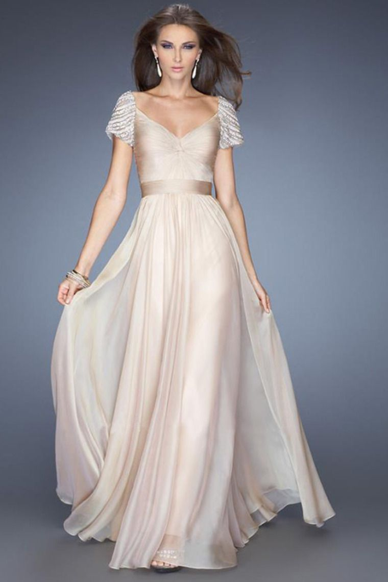 1000  images about Dress on Pinterest - Chiffon evening dresses ...