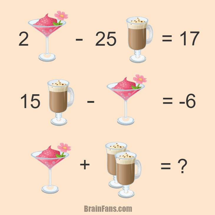 Brain teaser Number And Math Puzzle math riddle Can