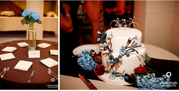 our wedding 10/11/09, cake by amy beck