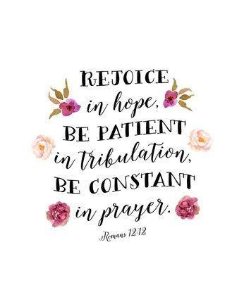 Romans 12:12 by Tara Moss