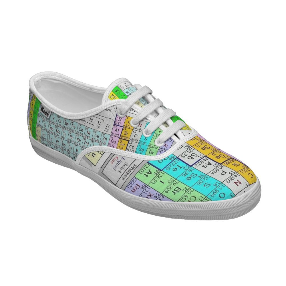 Periodic table of elements keds shoes microfinanceindia periodic table keds for science class fashion urtaz Gallery