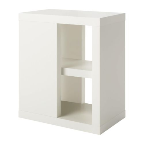 ullrik pied de table avec rangement blanc ikea id al pr glisser sous bureau 35x70cm 45euros. Black Bedroom Furniture Sets. Home Design Ideas