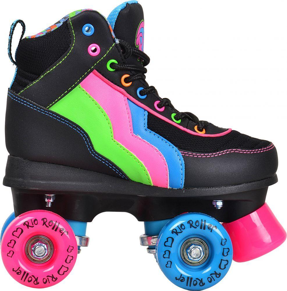 Disney Soy Luna LTD Edition Rollschuhe Rollerskates Kinder Rosa Pink Kids M/ädchen Skates Inline Rollerblade