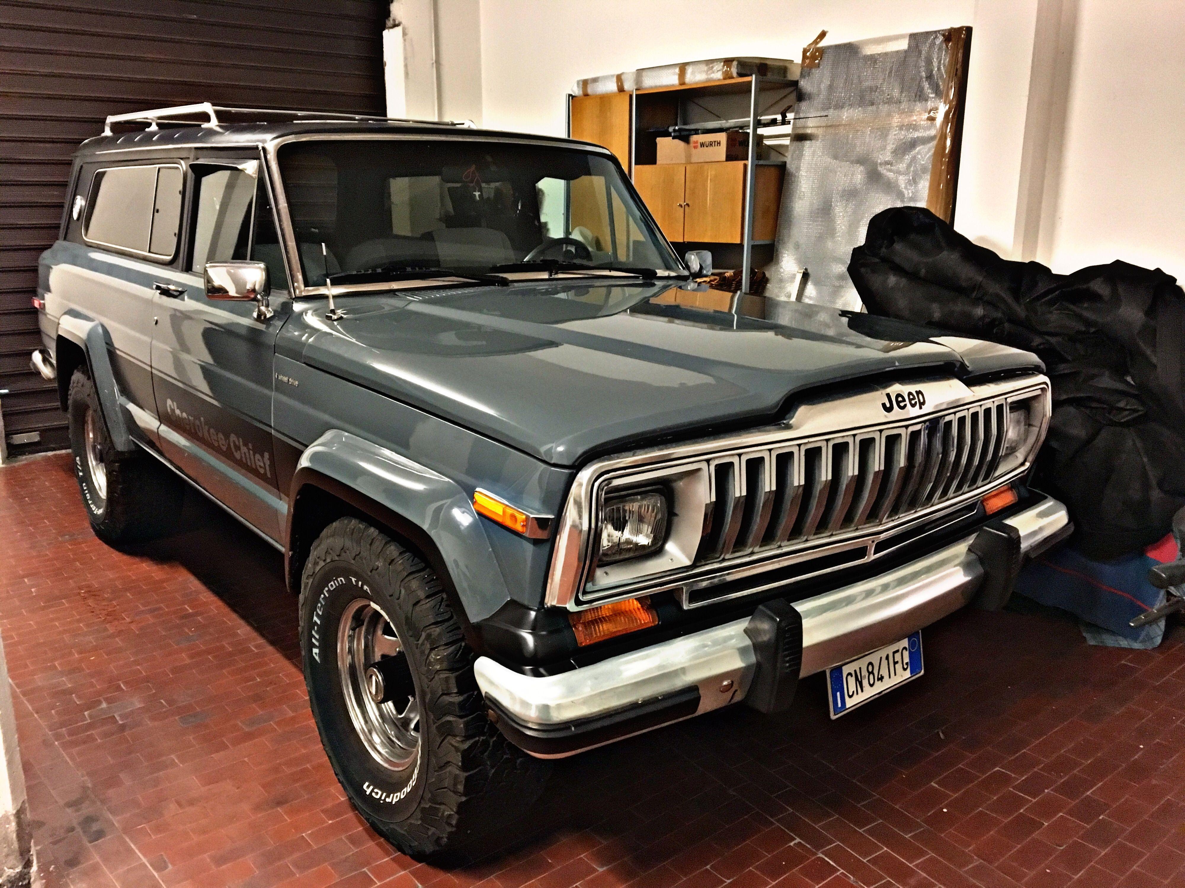 In The Garage Jeep Wagoneer Jeep Cars Jeep Cherokee Xj