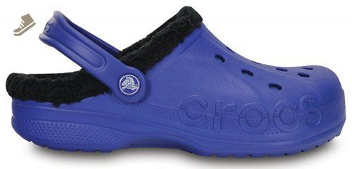 398f44576c Crocs Baya Lined Clogs - Cerulean Blue Black - US M6 W8 - Crocs mules and  clogs for women ( Amazon Partner-Link)
