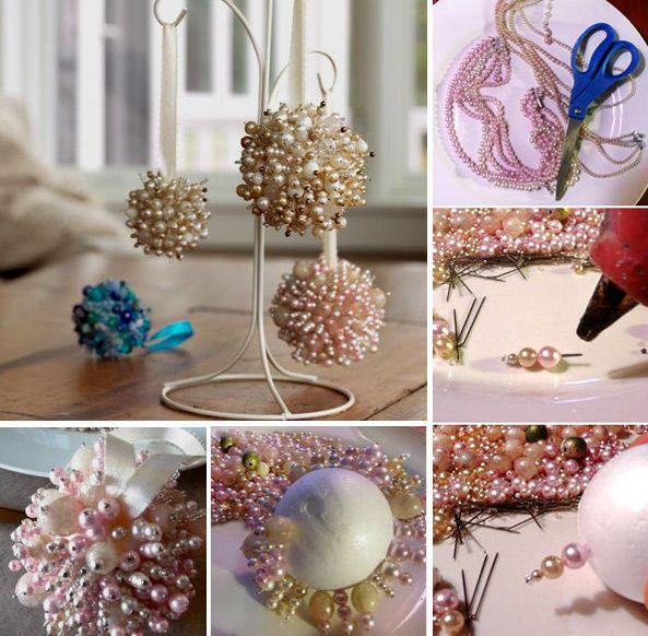 Как сделать шар из пенопласта. Мастер класс oblacco