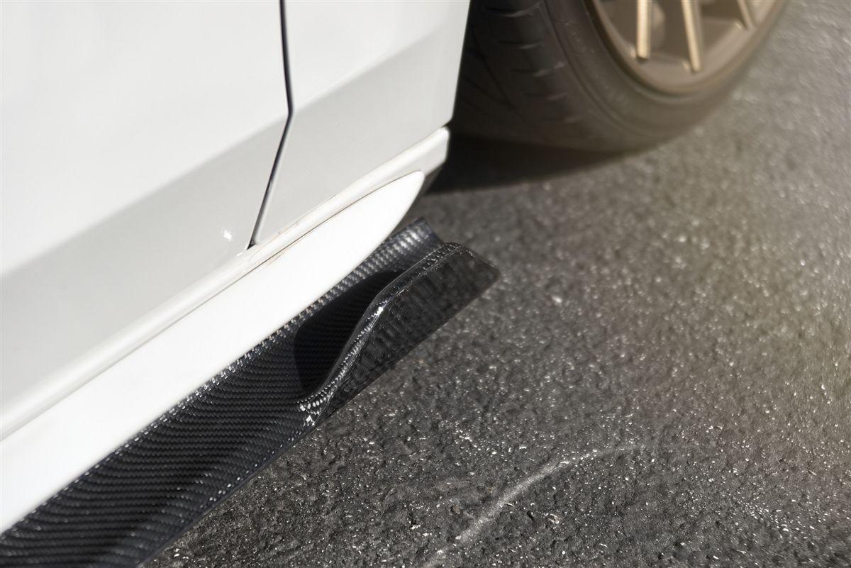 Enlaes Audi B8 B8 5 S4 A4 Side Skirts Carbon Fiber Carbon Fiber Audi Fiberglass