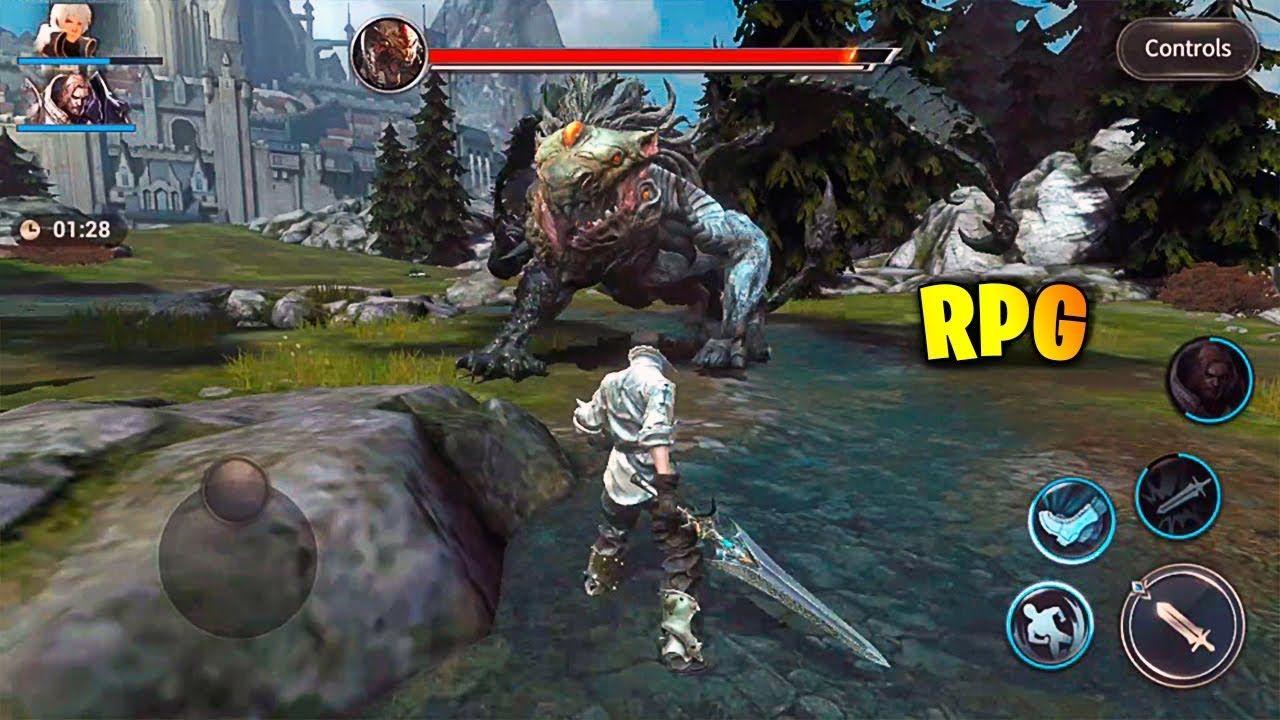 Top 10 Melhores Jogos de RPG para Android, iOS! Best Rpg