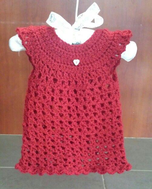 Quick and easy newborn crochet dress free pattern content://com.sec ...