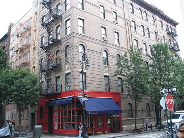 The Friends Apartment Building In Greenwich Village New York 12 Grove St At Bedford