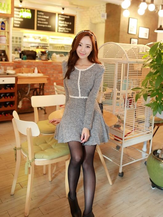 Korean Romantic Dress Free Worldwide Shipping http://en.thejamy.com/goods.php?id=156115