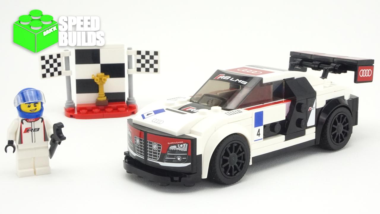 Lego Speed Champions Audi R8 Lms Ultra Lego 75873 Speed Build