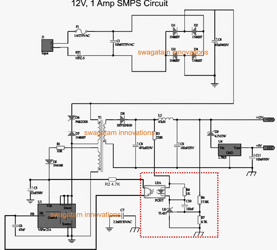 The post discusses how to make a variable voltage SMPS driver ...