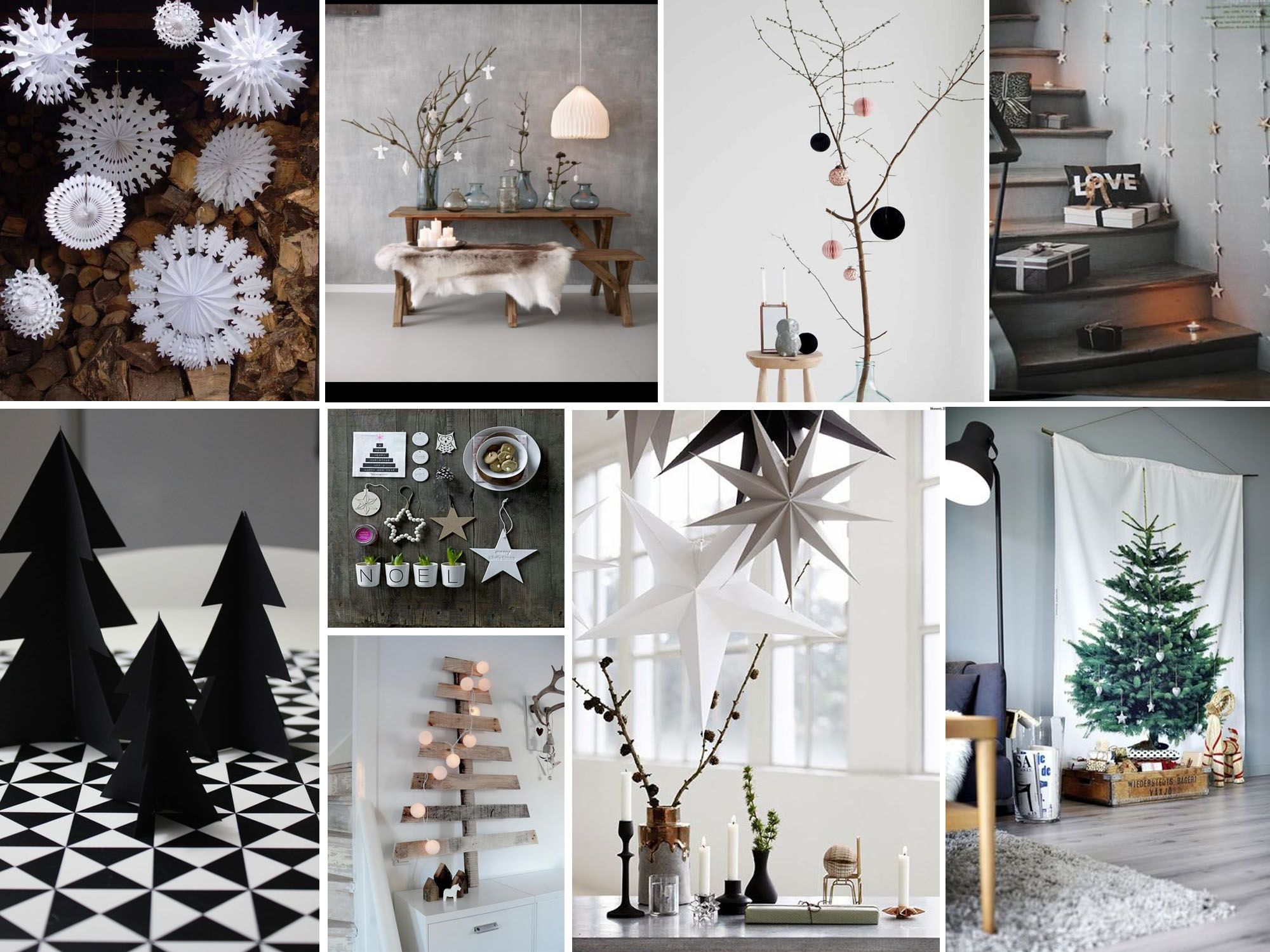 Christmas time picture collage by Diseño Interior Bruto,  www.dibestudio.com/ https://www.facebook.com/dibestudio