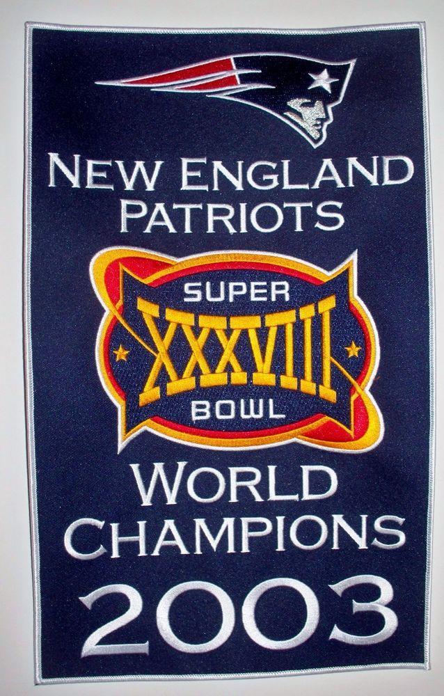206dec04dde7e 2003 New England  Patriots Super Bowl Xxxviii 38 Champions 14