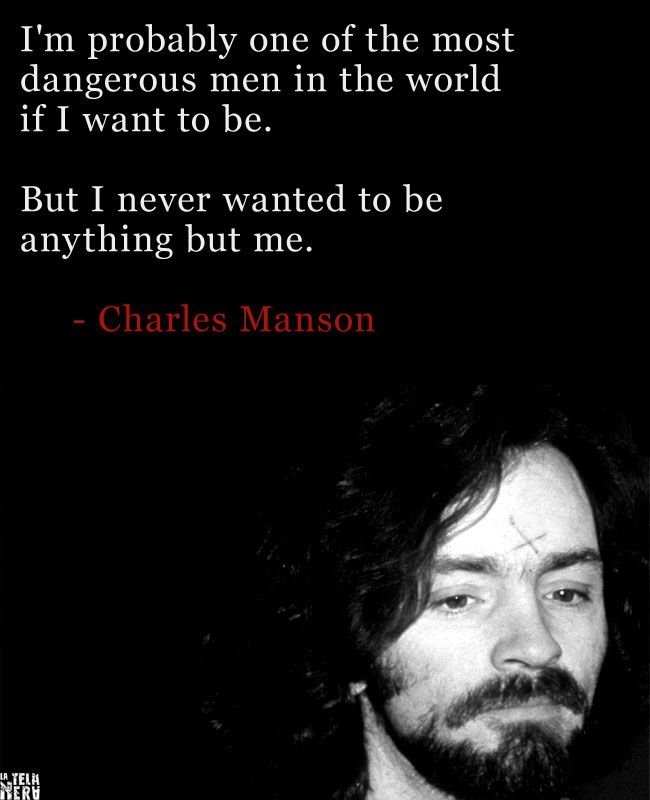 Research paper on charles manson